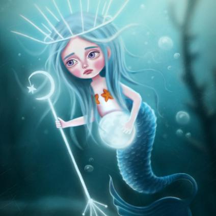 Lunar Mermaid